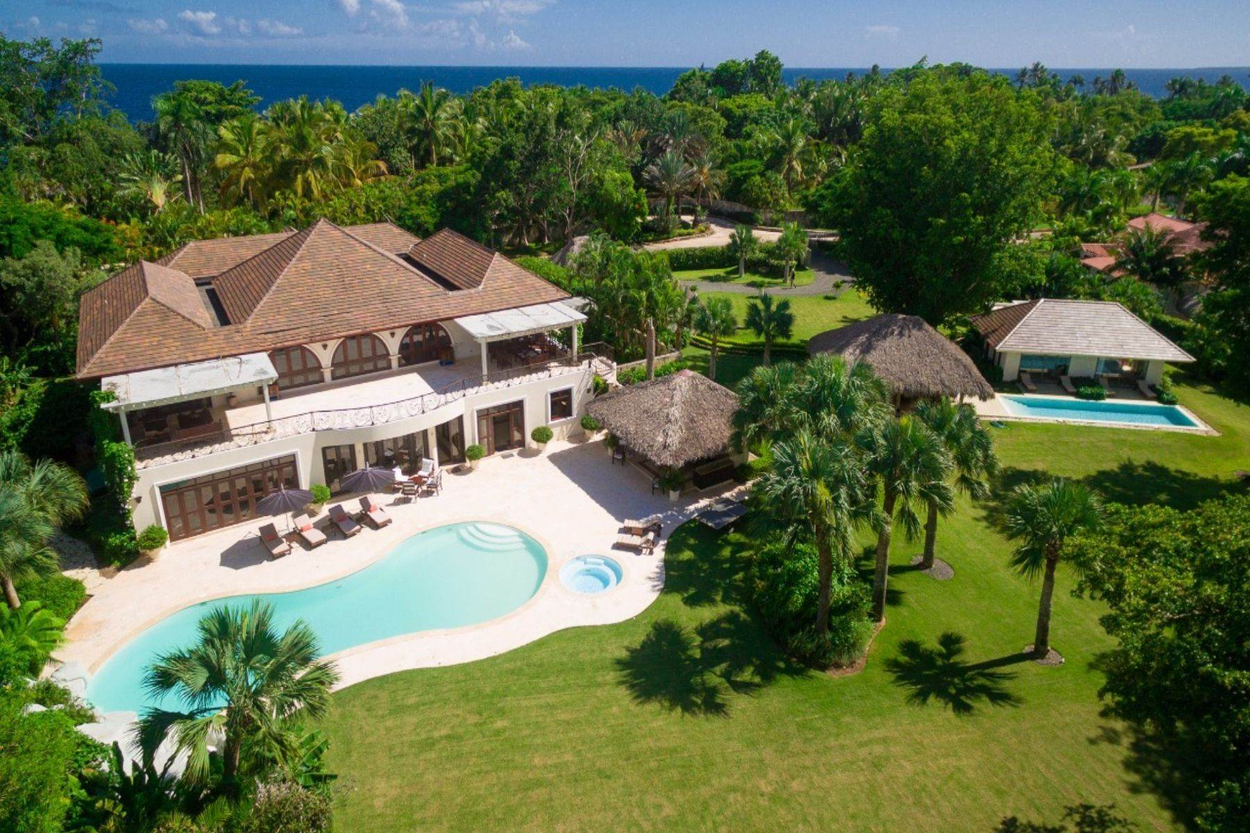 Single Family Homes at Punta Aguila # 41/42 - An exquisite double-lot estate close to the sea Casa De Campo, La Romana Dominican Republic