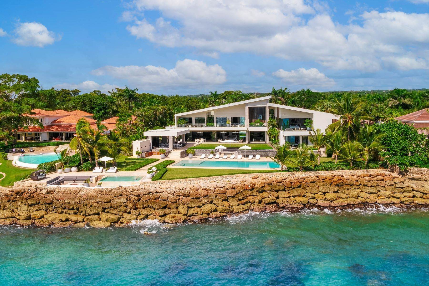 Single Family Homes for Sale at NEW Punta Minitas Modern Oceanfront Estate Punta Minitas # 19 Casa De Campo, La Romana 22000 Dominican Republic
