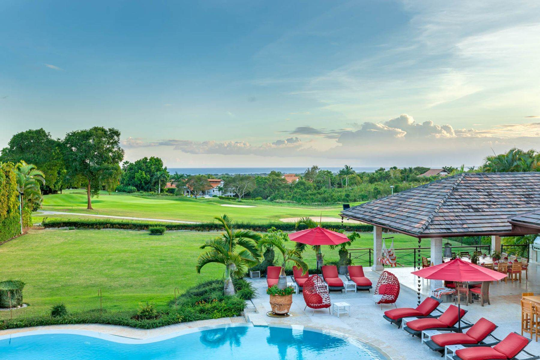 Single Family Homes for Sale at Riomar # 2 – Large and Elegant Mansion with Endless Ocean Views Casa De Campo, La Romana Dominican Republic